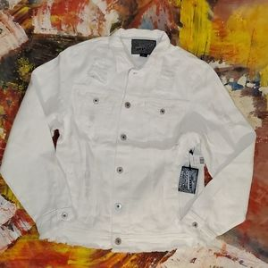 COPY - Brooklyn Clothing MFG Co white jean jacket